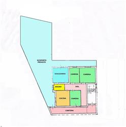 Appartamento, Cattabrighe Celletta, Pesaro, da ristrutturare