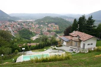 Villa, Cisano Bergamasco, in nuova costruzione