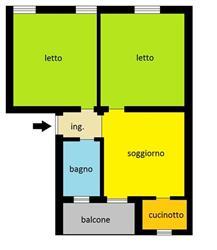 Bilocale in Via Casteggio, Infrangibile, Piacenza