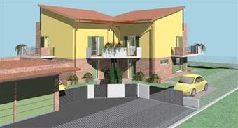 Bifamiliare, Carignano, Lucca, in nuova costruzione