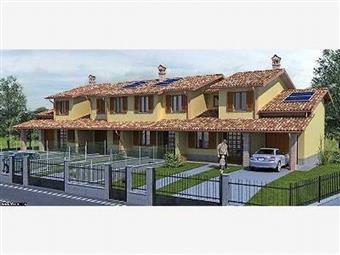 Villa a schiera, Chignolo Po, in nuova costruzione