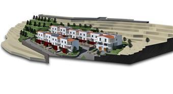Villa a schiera, Maranola, Formia, in nuova costruzione