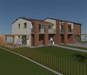 Villa a schiera, Vo, in nuova costruzione
