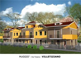 Villa a schiera in Via Tiziano -muggio'-, Monza