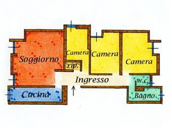 Quadrilocale, Cervignano Del Friuli, abitabile
