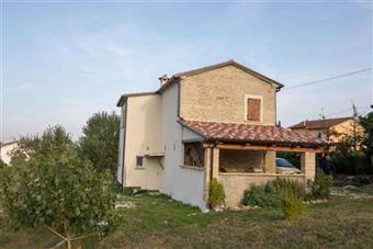 Casa singola, Montefiore Conca, ristrutturata