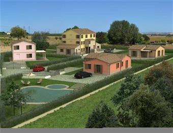 Villa a schiera in Montegiacomo, Monsano