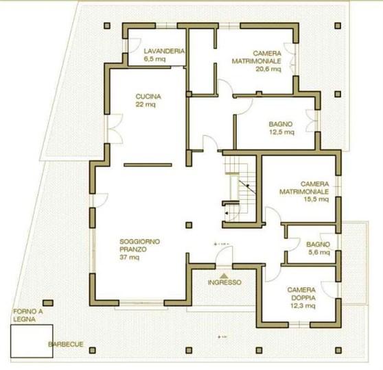 Vendita villa via alta san lazzaro sarzana abitabile for Distaccato due piani di garage per auto