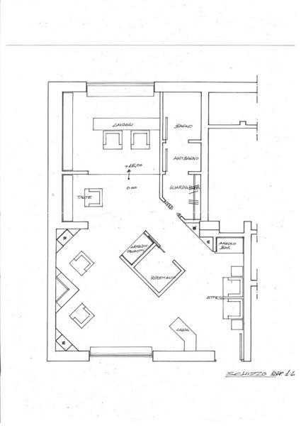 piantina locale commerciale centro S.Benedetto D.T